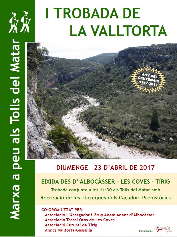I Trobada de la Valltorta (23/4/17)